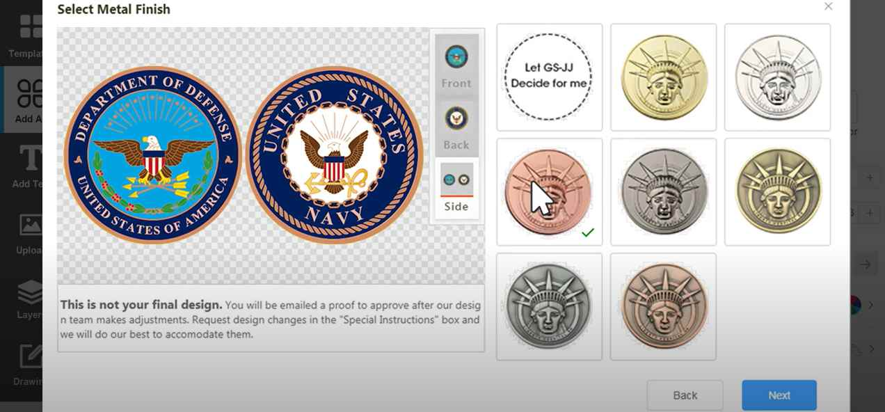 Special Customized Challenge Coins To Encourage Anti-COVID-1
