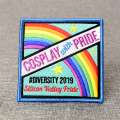Embroidered Rainbow Patches