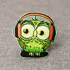 Cute Owl Embroidered Patches