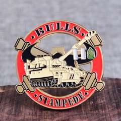 Bravo Bulls Army Challenge Coins