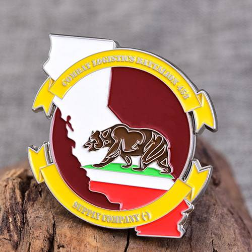 CLB453 Marine Corps Challenge Coins