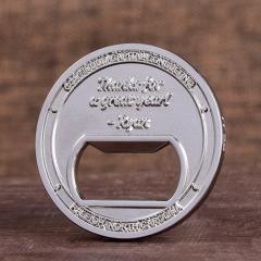 Continuum Bottle Opener Coins