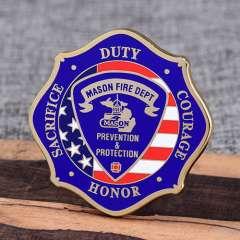 Mason Firefighter Challenge Coins
