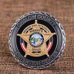 OC Detention Center Custom Coins