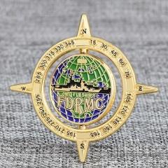 Compass Custom Spinner Coins