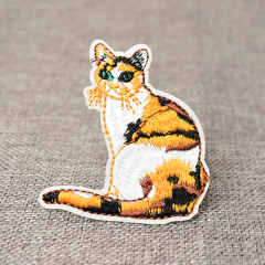 Kitten Embroidered Patches