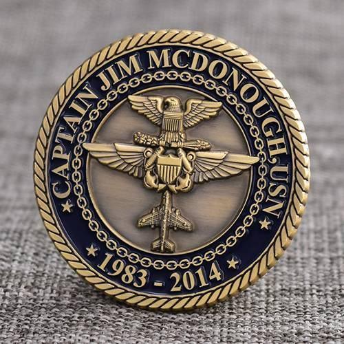 Captain JM Military Coins