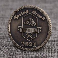 Spring Break Firefighter Coins