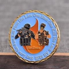 Valiant Fire Team Challenge Coins