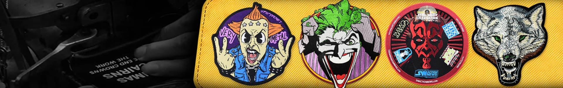 Custom Embroidered Patches