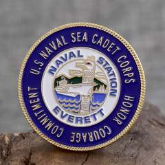 Sea Cadet Corps Navy Challenge Coins