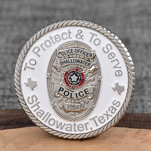 Shallowater Police Challenge Coins