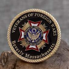 Veterans of FW Military Coins