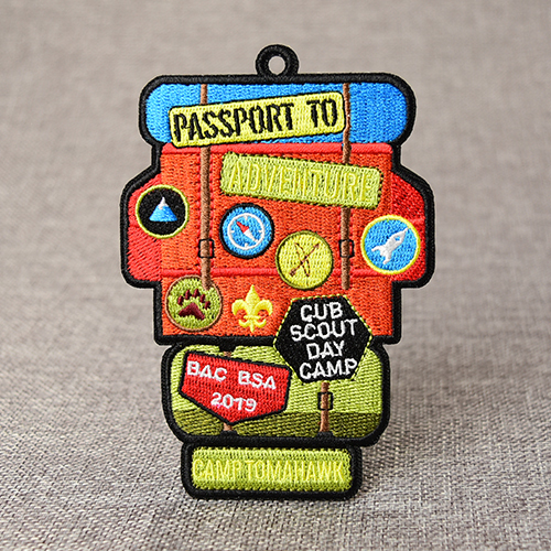 Guidepost Embroidered Patches