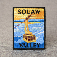 Square Squaw Valley Patches