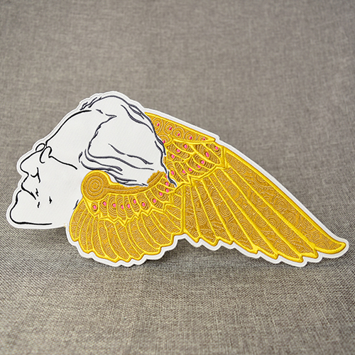 Wise Angel Embroidered Patches