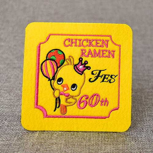 Chicken Ramen Anniversary Patch