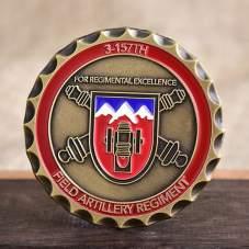 Field Artillery Regiment Army Coins