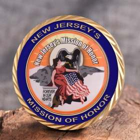 New Jersey's Mission of Honor Coins