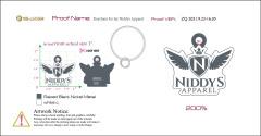 Keychain for Jay Niddys Apparel