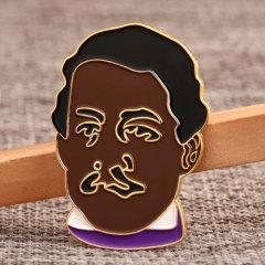 Man Portrait Custom Pins