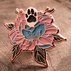 Special Flowers Custom Pins