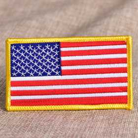 Custom Flag Embroidered Patches