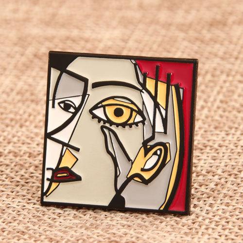 Abstract Painting Custom Pins