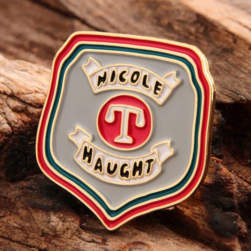 Custom Nicole Haught Pins