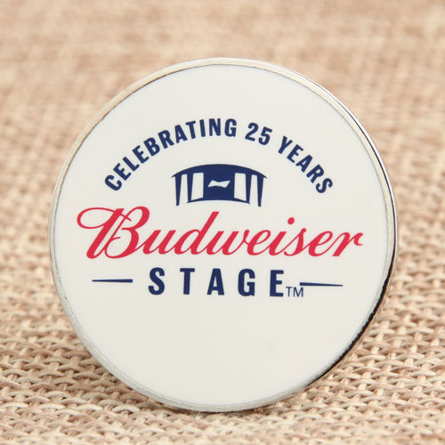 Budweiser Custom Made Pins