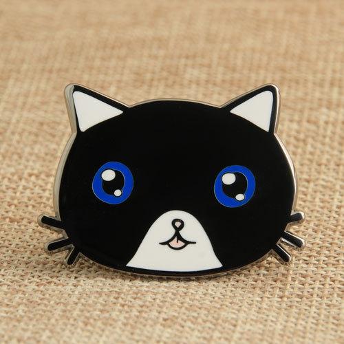 Cat Custom Enamel Pins no minimum