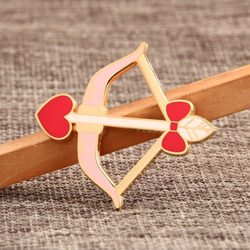 Cupid's Arrow Lapel Pins
