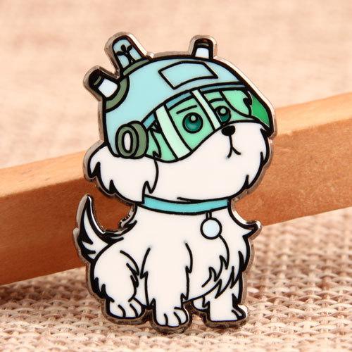 Custom Cute Dog Lapel Pins