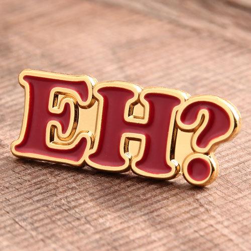 EH Exclamation Custom Hat Pins