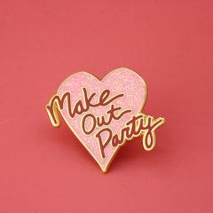 Love Heart Custom Enamel Pins