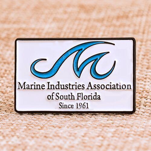 Marine Industries Association Custom Pins