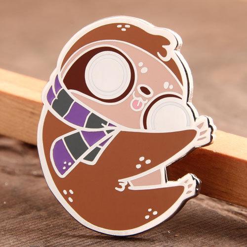 Raccoon Custom Metal Pins