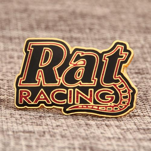 Rat Racing Lapel Pins