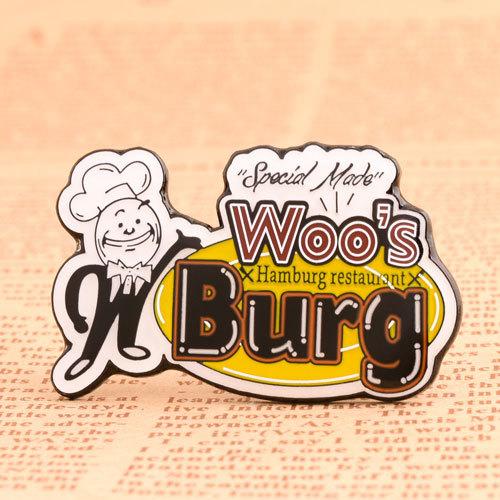 Woo's Burg Custom Lapel Pins
