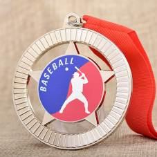 Custom Baseball Printed Medals