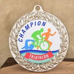 Custom Printed Medals for Triathlon