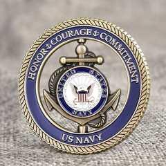 US Navy Custom Spinner Coins