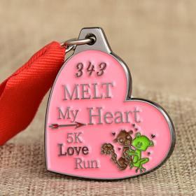 5K Love Running Medals