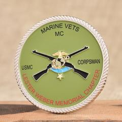 Marine Corps Vets Challenge Coins