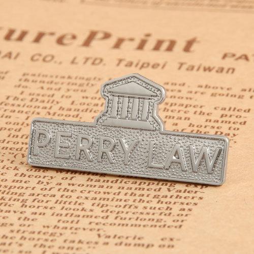 Perry Law Custom Lapel Pins