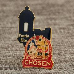 Puerto Rico Cheap Enamel Pins