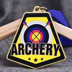 Custom Archery Printed Medals