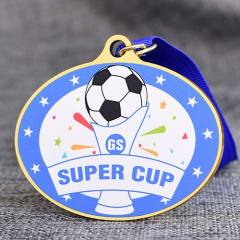 Soccer UV Printed Medals
