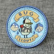 Bug Scout Embroidery Patches