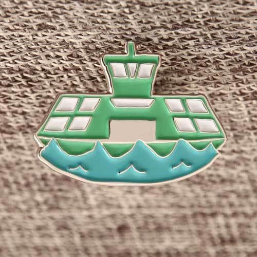 Custom Ship Enamel Pins